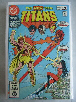 New Teen Titans (1980-1984) #11 VG/FN UK Price Variant