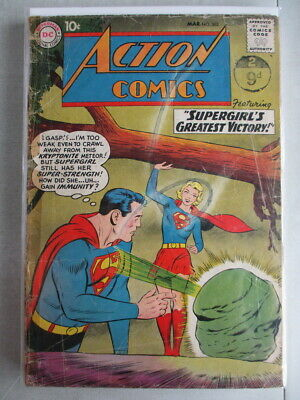 Action Comics Vol. 1 (1938-2011) #262 GD (Tape on Spine)