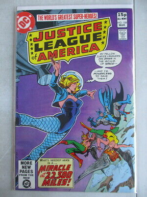 Justice League of America Vol. 1 (1960-1987) #188 VF+ UK Price Variant