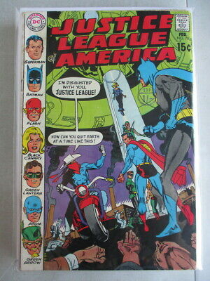 Justice League of America Vol. 1 (1960-1987) #78 FN-