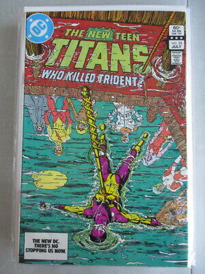 New Teen Titans (1980-1984) #33 VF+