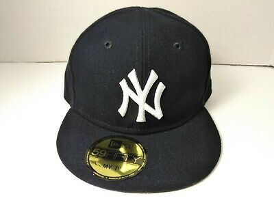 77db7e5a1c6 MLB New York Yankees New Era 59FIFTY My 1st Fitted Hat Cap Baby Infant 6 -