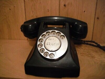 Vintage Dial telephone unusual and rare version (014)