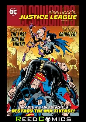ELSEWORLDS JUSTICE LEAGUE VOLUME 3 GRAPHIC NOVEL (296 Pages) New Paperback