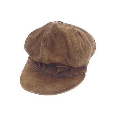 Gucci hat Brown Woman Authentic Used Y4268