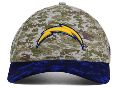 San Diego Chargers NFL New Era WOMENS Salute to Service Camo Adjustable Cap  Hat b1d8cfc68b08