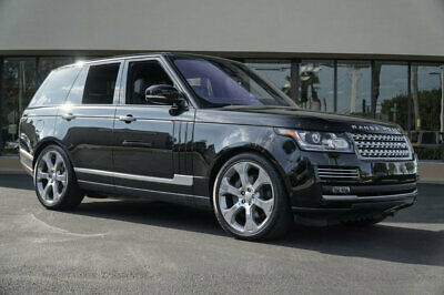 """2017 Land Rover Range Rover V8 Supercharged Autobiography SWB '17 Land Rover Range Rover S/C Autobiography,510HP,22"""" Wheels,Rear Entertainment"""