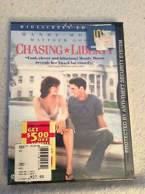 Chasing Liberty (DVD, 2004, Widescreen) NEW SEALED