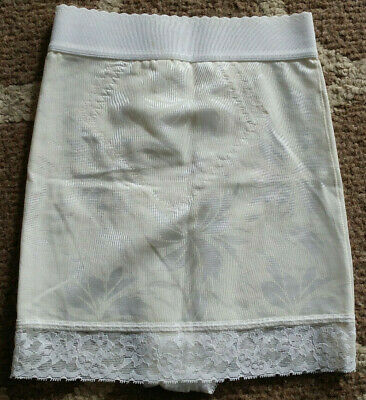 Vintage Lady Manhattan Small Union Made Cream Slip Shaper Girdle Underware