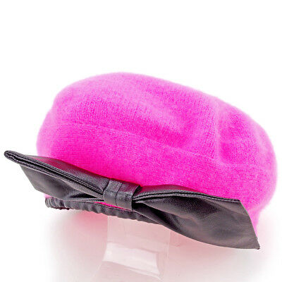 Marc Jacobs hat Pink Black Woman Authentic Used S717