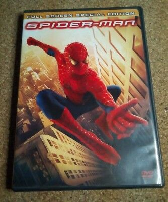 Spider-Man (DVD, 2002, 2-Disc Set, Special Edition Full screen) TOBEY MAGUIRE