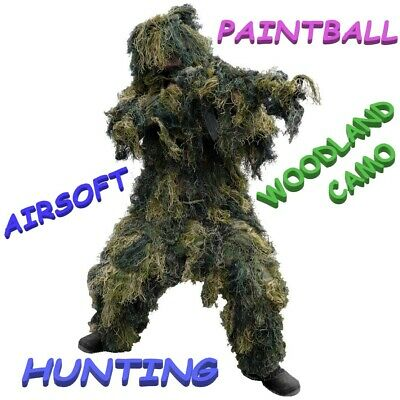 Childs Kids - Camouflage Ghillie Suit - ULTRA LIGHTWEIGHT