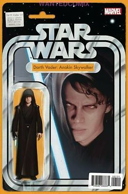 Star Wars Darth Vader #1 Christopher Action Figure Variant Cover Comic Book Sith