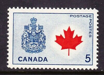 Canada No 429A, Canada:  Provincial Flowers & Coats Of Arms Issue,   Mint Nh
