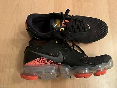 save off 0a517 a68b7 Nike Air VaporMax CS Black Jungen Run Sneaker US 4Y EUR 36