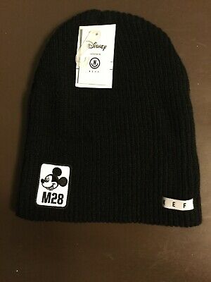 56d2ec2e471 NWT Men s Special Edition DIsney NEFF Mickey Mouse Black Beanie Ski Hat