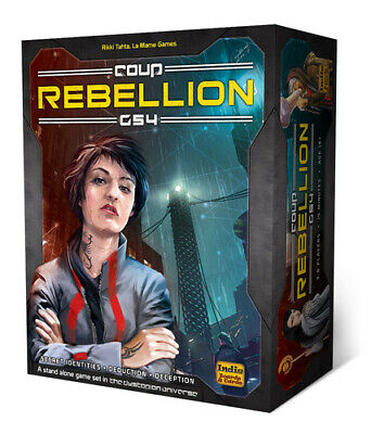 Coup Rebellion G54 - Strategy Card Game