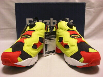 6f91d91a3c0649 Reebok Insta Pump Fury OG Black Green Red White Vintage Sneakers US 9 1 2