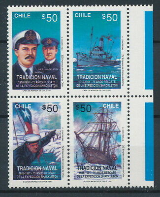 [72701] Chile good set Very Fine MNH stamps