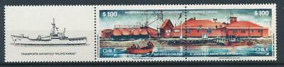 [72702] Chile 1987 Antarctic good set Very Fine MNH stamps