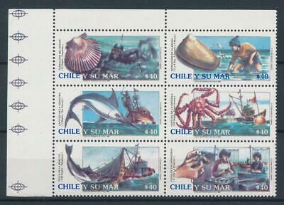 [72707] Chile good set Very Fine MNH stamps