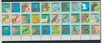[G73650] Colombia good lot Very Fine MNH stamps