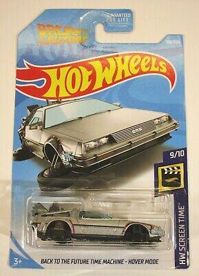 2019 Hot Wheels Back To The Future Time Machine Hover Mode Delorean 108/250