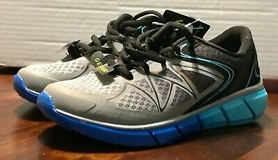 NEW BOYS CHAMPION Blue Gravite Silver Athletic Shoes Size 5 -  24.99 ... 0f705275072