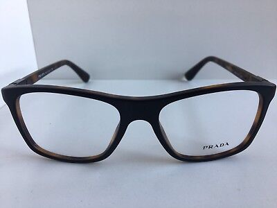 5220239d360 ✳NEW AUTHENTIC PRADA VPR 52I 1BI-1O1 Brown Eyeglasses 53mm with ...
