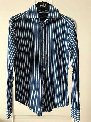 the best attitude 0346a a18af CAMICIA BAMBINO POLO by Ralph Lauren tag.2 righe cotone vintage shirt C296
