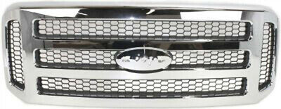 CPP Chrome Grill Assembly for 2005 Ford Excursion Grille FO1200456