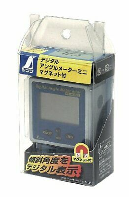SHINWA Compact Digital Angle Meter Protractor with Magnet for Work japanese New