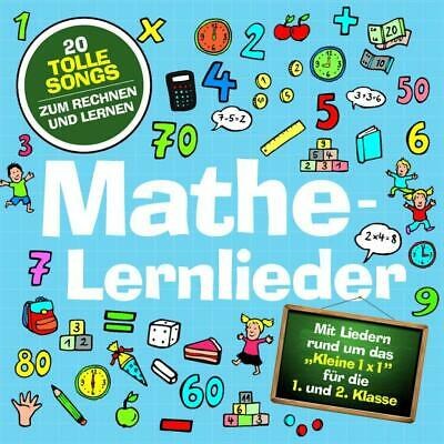 Mathe-Lernlieder Marie & Finn Audio-CD Deutsch 2016