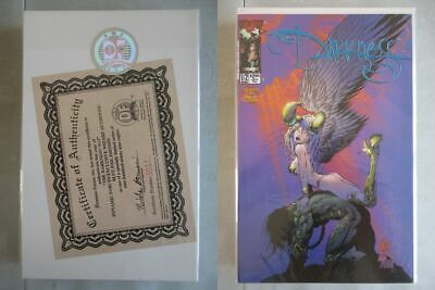 Darkness #1/2 DF Wizard Blue Foil Edition Ltd. to 999 With COA