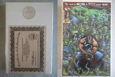 Darkness #40 DF Green Foil Edition Ltd. to 500 With COA