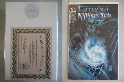 Fathom Killian's Tide #1 DF Exclusive Cover Ltd. to 3000 With COA
