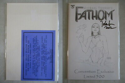 Fathom Preview Edition Convention Signed Caldwell Ltd. to 500 With COA
