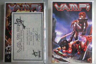 Vampi #16-18 Set Signed by Kevin Lau Ltd. to 150 With COA
