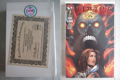 Witchblade #48 DF Red Foil Edition Signed Ltd. to 199 With COA