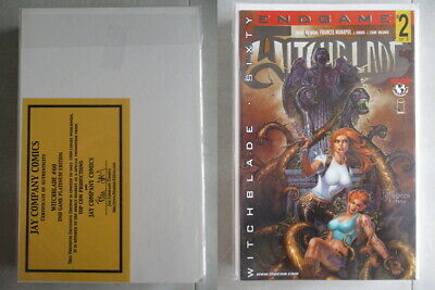 Witchblade #60 End Game Platinum Edition Ltd. to 1000 With COA