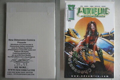 Witchblade #75 Wizard World East Platinum Edition Ltd. to 99 With COA