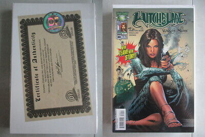 Witchblade #80 DF Exclusive Green Foil Cover Ltd. to 250 With COA