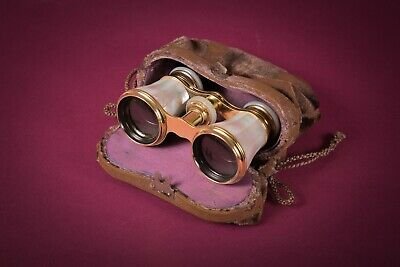 First Rodenstock antique opera glasses mother of pearl 1890 opernglas perlmut