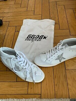 98482398f65d GOLDEN GOOSE STAR Swarovski Crystal Star NWT 39 White -  355.00 ...