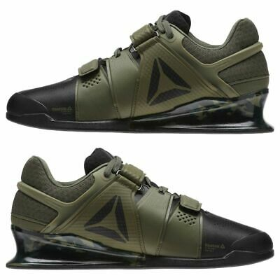 1d2f5e886e5 Reebok Legacy Lifter Camo Camouflage Weightlifting Shoes Size 8 Limited  Edition