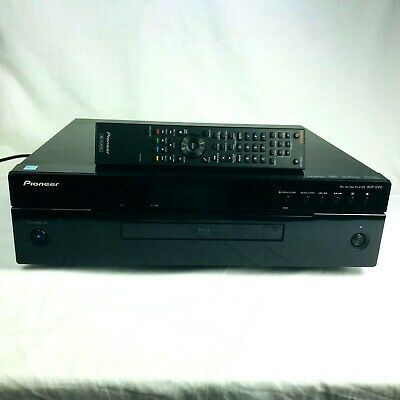 Pioneer BDP-51FD DVD Blu-ray Player with Remote 1080p High End Audio Output