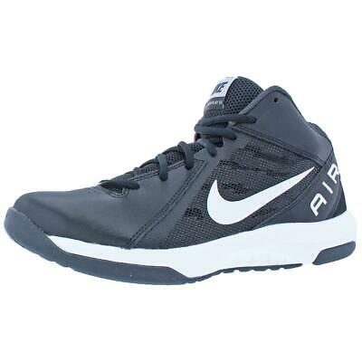 67c8fddce7e Nike Mens Air Overplay 9 Black Basketball Shoes Sneakers 7.5 Wide (E) BHFO  9142