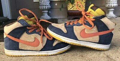 separation shoes e06a3 ce2af NIKE SB DUNK High Three Bears Papa Bear Size 9.5 Pigeon 313171-781 AUTHENTIC