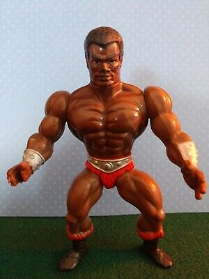 Vintage MOTU Masters of the Universe/He-Man Clamp Champ Action Figure