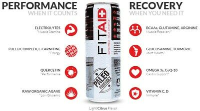FitAid Recovery Drink. Post workout recovery drink. CrossFit.